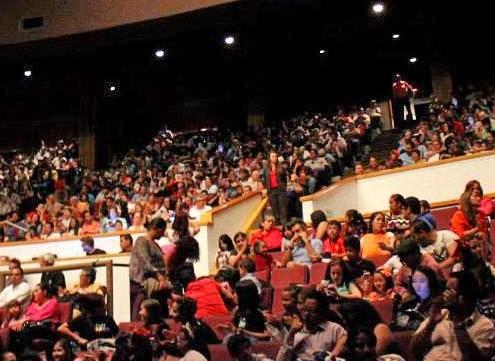 Impression de salle - Festival cervantino
