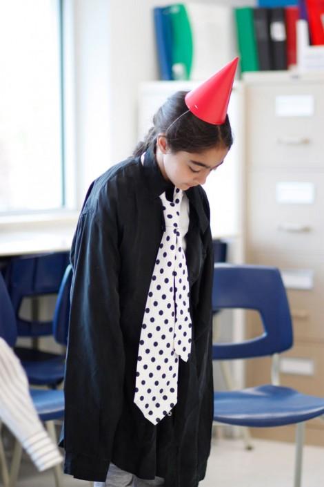 """PPS Danse - Atelier Les Chaises en école - """"L'orateur"""" - © Clémence Ménard"""