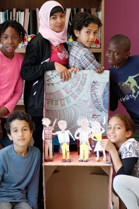PPS Danse - Atelier Les Chaises en école - © Clémence Ménard