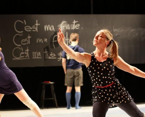 PPS Danse - l'École buissonnière - Sur la photo : Amélie Rajotte et Chantal Baudouin © Eduardo Ruiz Vergara