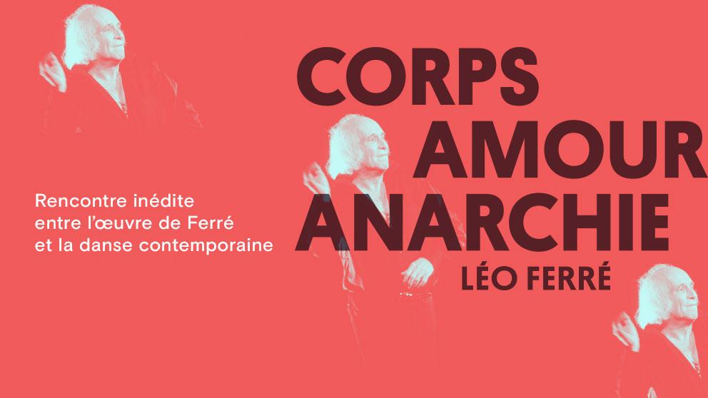 PPS Danse - Corps Amour Anarchie - Leo Ferré © 1986 Pierre Roussel