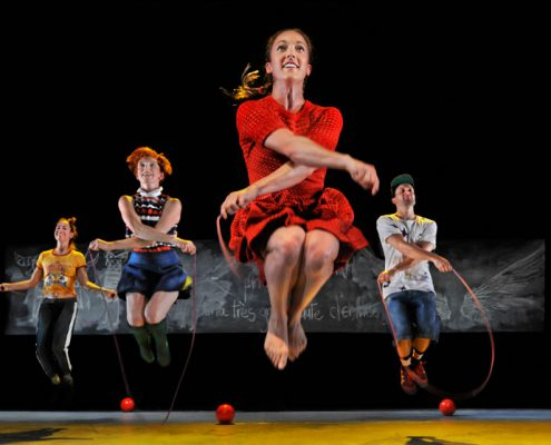 PPS Danse - L'École buissonnière - Amélie Rajotte, Mathilde Addy-Laird, Chantal Baudouin, Dany Desjardins - © Rolline Laporte