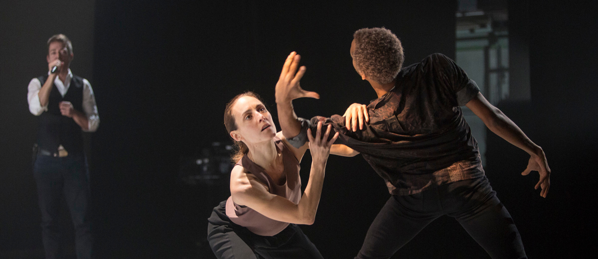 PPS Danse - Corps Amour Anarchie | Léo Ferré - Alexandre Désilets, Anne Plamondon, Jossua Collin-Dufour © Jean-François Leblanc