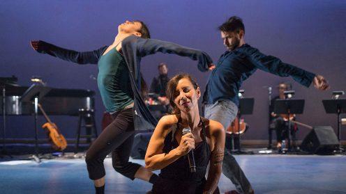 PPS Danse - Corps Amour Anarchie | Léo Ferré - Sarah Harton, Bïa, David Rancourt © Jean-François Leblanc