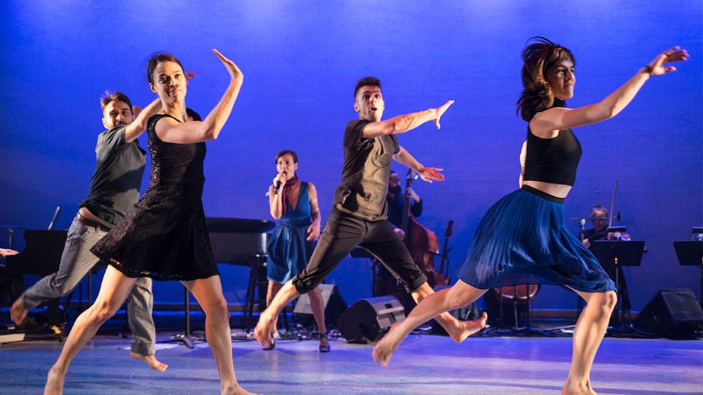 PPS Danse - Corps Amour Anarchie | Léo Ferré - Bïa, David Rancourt, Sarah Harton, Alexandre Carlos, Roxane Duchesne-Roy © Jean-François Leblanc